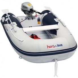 Barca Honda Honwave cu podina de aluminiu T25-AE2