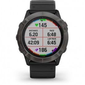 Ceas Garmin Fenix 6X Sapphire Carbon/Black 51mm - HG.010.02157.11 grafic antrenament