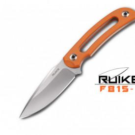 Cutit de outdoor Ruike F815 maner portocaliu - Lama 9cm