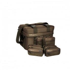 Geanta Shimano Tactical Full Compact Carryall + 6 cutii 42cm x 26cm x 29cm