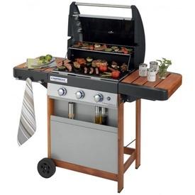 Gratar pe gaz Campingaz seria 3 Woody LX - 2000015632 cu alimente