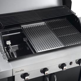 Gratar pe gaz din inox Char-Broil Professional 4400B - 140737 suprafata de gatire
