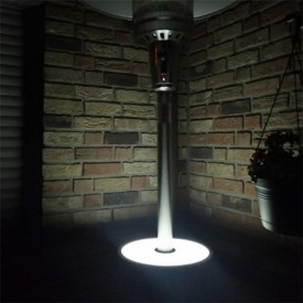 Incalzitor de terasa din inox comercial Brolly High End 13 Kw masa cu LED Activa 13950 8