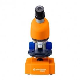 Microscop optic Bresser Junior 40x-640x portocaliu - 8851301