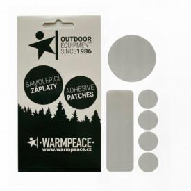 Petice autoadezive reparatie echipament Warmpeace Mix 6 buc