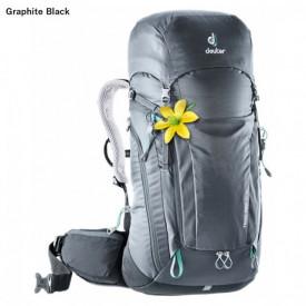 Rucsac Deuter Trail Pro 34 SL Woman Graphite Black