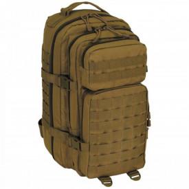 Rucsac modular 30 litri, multiple buzunare, compatibil sistem hidratare, coyote tan MFH - OUTMA.30328R
