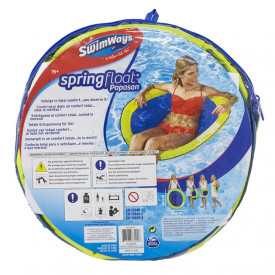 Saltea Piscina SwimWays Spring Float Papasan - 970258