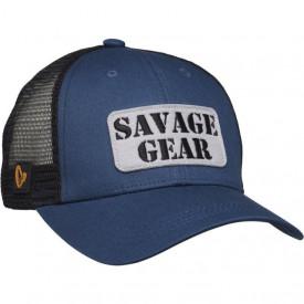Sapca Savage Gear Logo Badge Teal Blue - A8.SG.73712