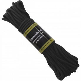 Sfoara diametru 5 mm, lungime 15 metri, culoare neagra - OUTMA.27507A