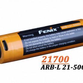 Acumulator Fenix 21700 - 5000mAh - Acumulator USB Type-C - ARB-L 21-5000U