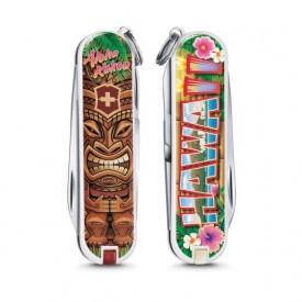 Briceag Victorinox Classic Aloha Kakou - 0.6223.L1809 - Limited Edition 2018 fata spate
