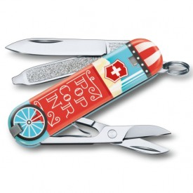 Briceag Victorinox Classic Let it Pop - 0.6223.L1910 - Limited Edition 2019