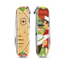 Briceag Victorinox Classic Mexican Tacos - 0.6223.L1903 - Limited Edition 2019 fata spate