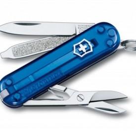 Briceag Victorinox Classic SD, albastru transparent - 0.6223.T2