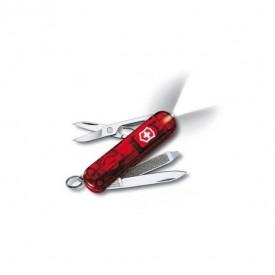 Briceag Victorinox SwissLite, rosu transparent - 0.6228.T