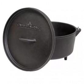 Ceaun din fonta cu capac - cuptor olandez Camp Chef 30 cm 5,6 litri - CC-SDO12