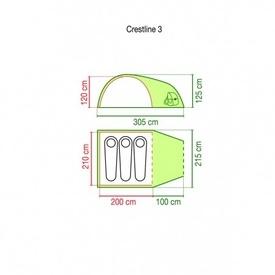 Cort Coleman Crestline 3 pers - 802086