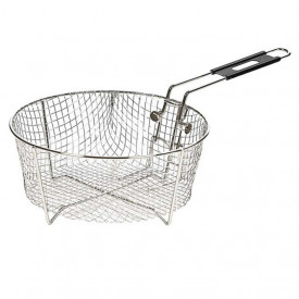 Cos pentru prajire din otel inoxidabil rotund cu diametru de 26 cm pentru ceaunele Lodge - L-10FB2