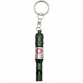 Fluier supravietuire cu inel si ID tag, impermeabil MFH - OUTMA.27564