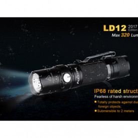 Lanterna Fenix LD12 - Editie 2017 - 320 Lumeni - 135 Metri IPX