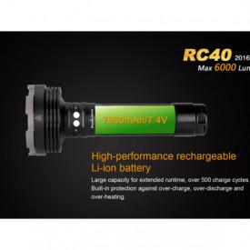 Lanterna Fenix RC40 - 6000 Lumeni - 730 Metri - Editie 2016 5
