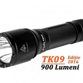 Lanterna Fenix TK09 - Editie 2016 - 900 lumeni 310 metri