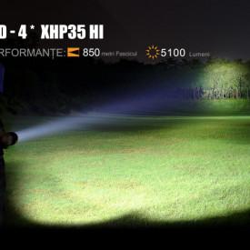 Lanterna Fenix TK75 Rencarcabila 5100 lumeni 850 metri 3