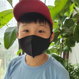 Masca textila reutilizabila cu tratament antiviral Black L 1