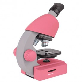 Microscop optic Bresser Junior 40x-640x roz - 8851300CRG000
