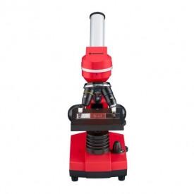 Microscop optic Bresser Junior Student Biolux SEL, rosu - 8855600E8G000