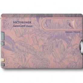 Multifunctional Victorinox SwissCard Classic Spring - 0.7155 - Limited Edition inchis