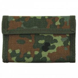 Portofel unisex, material textil, 14,5 x 10 x 1,5 cm, BW camo MFH - OUTMA.30923V