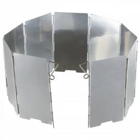 Scut pliabil pentru aragaz camping Fox Outdoor Windscreen, 65 x 13 cm, cu husa - OUTMA.33686