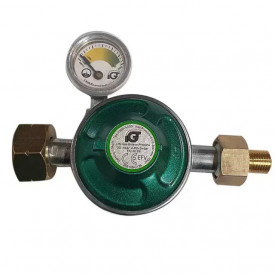 Set regulator gaz de presiune cu furtun si manometru Grand Hall - A00080040T