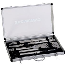 Set ustensile pentru gratar in cutie din aluminiu Campingaz - 205828