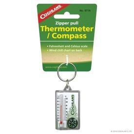 Breloc cu termometru si busola Coghlans - C9714
