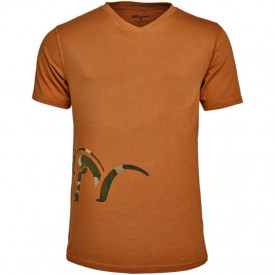 Tricou Blaser Logo V Neck Orange