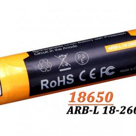 Acumulator Fenix 18650 - 2600mAh Cu Micro USB - ARB-L 18-2600U