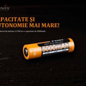Acumulator 21700 - 5000mAh - Acumulator USB Type-C - ARB-L 21-5000U 3
