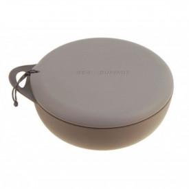Bol camping Sea To Summit Delta bowl cu capac, volum 750 ml, gri - OUTMA.ADBOWLLIDPB