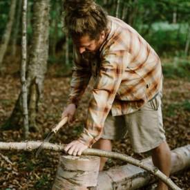 Briceag Opinel Fierastrau Nr.18 Inox Fag, lama 18cm - 001198