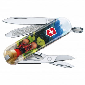 Briceag Victorinox Classic I Love Hiking - 0.6223.L2002 - Limited Edition 2020