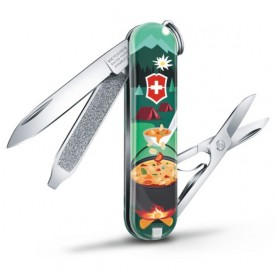Briceag Victorinox Classic Swiss Mountain Dinner - 0.6223.L1907 - Limited Edition 2019 unelte