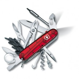 Briceag Victorinox CyberTool Lite, rosu transparent - 1.7925.T