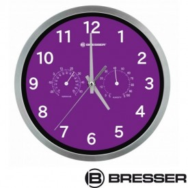 Ceas de perete cu statie meteo Bresser MyTime - 8020310TJ5000