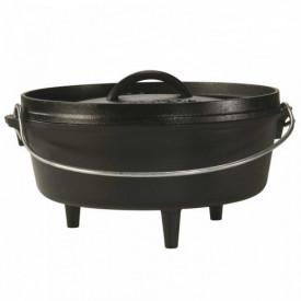 Ceaun din fonta cu capac - cuptor olandez Lodge 25,4 cm 3,7 litri L-10CO3