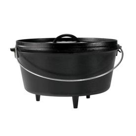 Ceaun din fonta cu capac - cuptor olandez Lodge 30,2 cm 7,6 litri