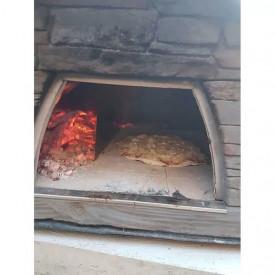 Cuptor traditional pentru pizza pe lemne Maximus rosu - MAXIMUSRED 6