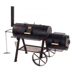 "Gratar pe carbuni cu afumatoare JOE's Barbeque Smoker 16"" Texas Classic JS-33752"